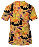 Seamless Pattern For Halloween. T-Shirt