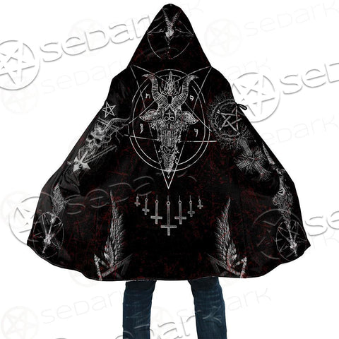 Satanic Dream Cloak with bag