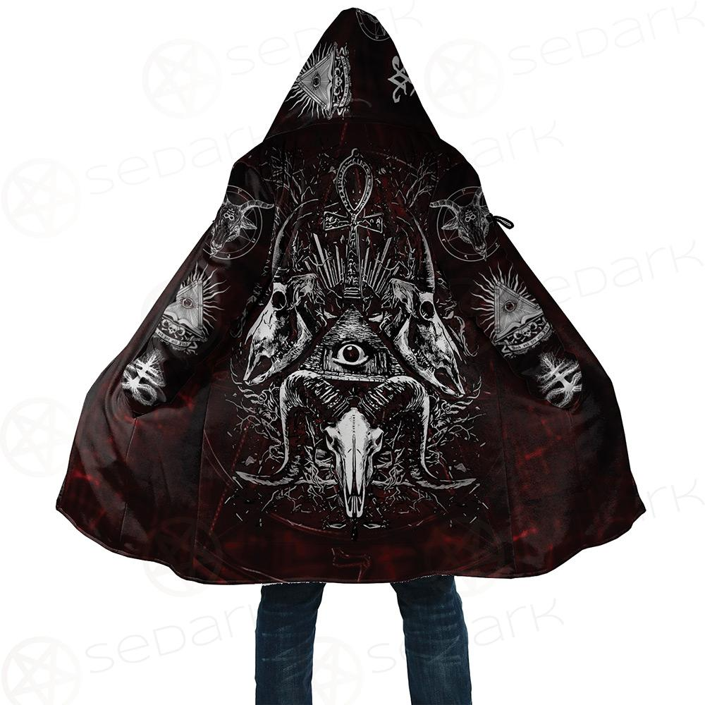 All Seeing Eye Cloak with bag