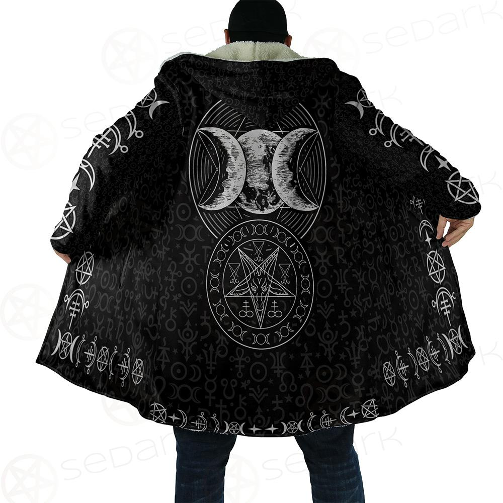Triple Moon Dream Cloak with bag