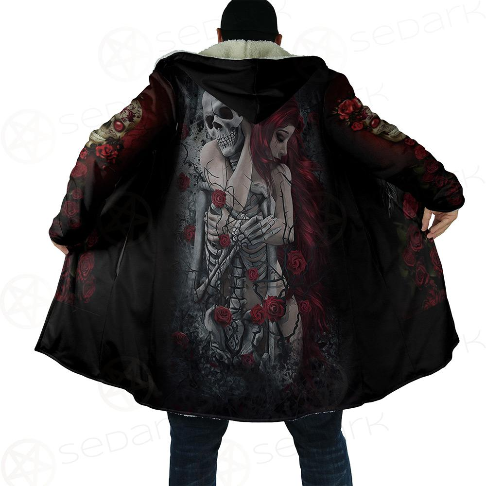 Skull Rose Dream Cloak no bag