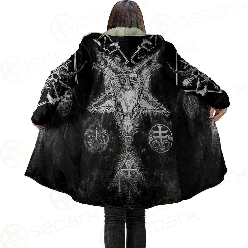 Satanic Pentagram Dream Cloak no bag