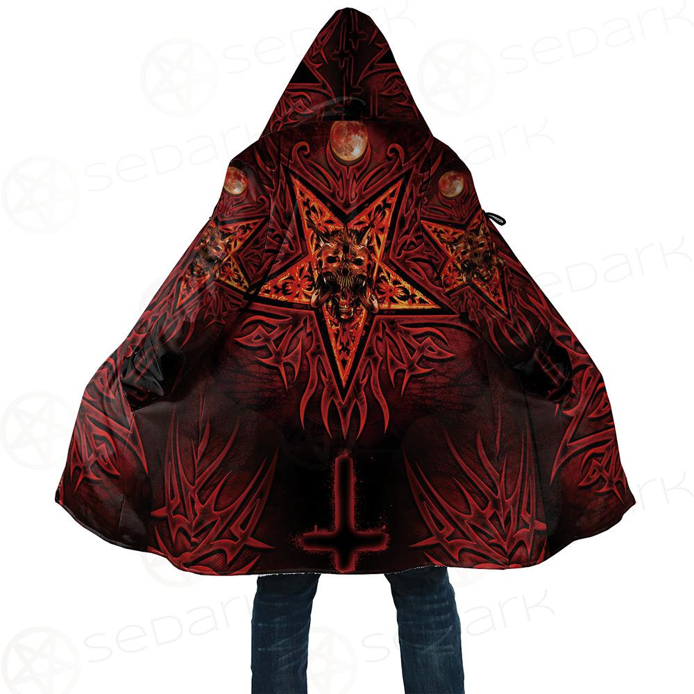 Satanic Tribal Dream Cloak with bag