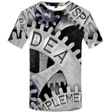 Gothic Punk Tees Men