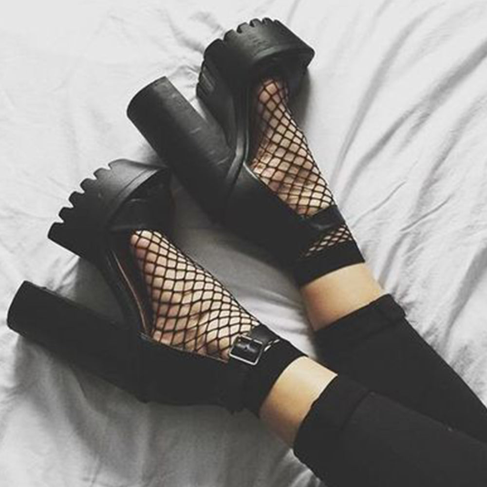 Thick Sandal High Heels