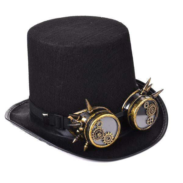 Top Hat With Glasses