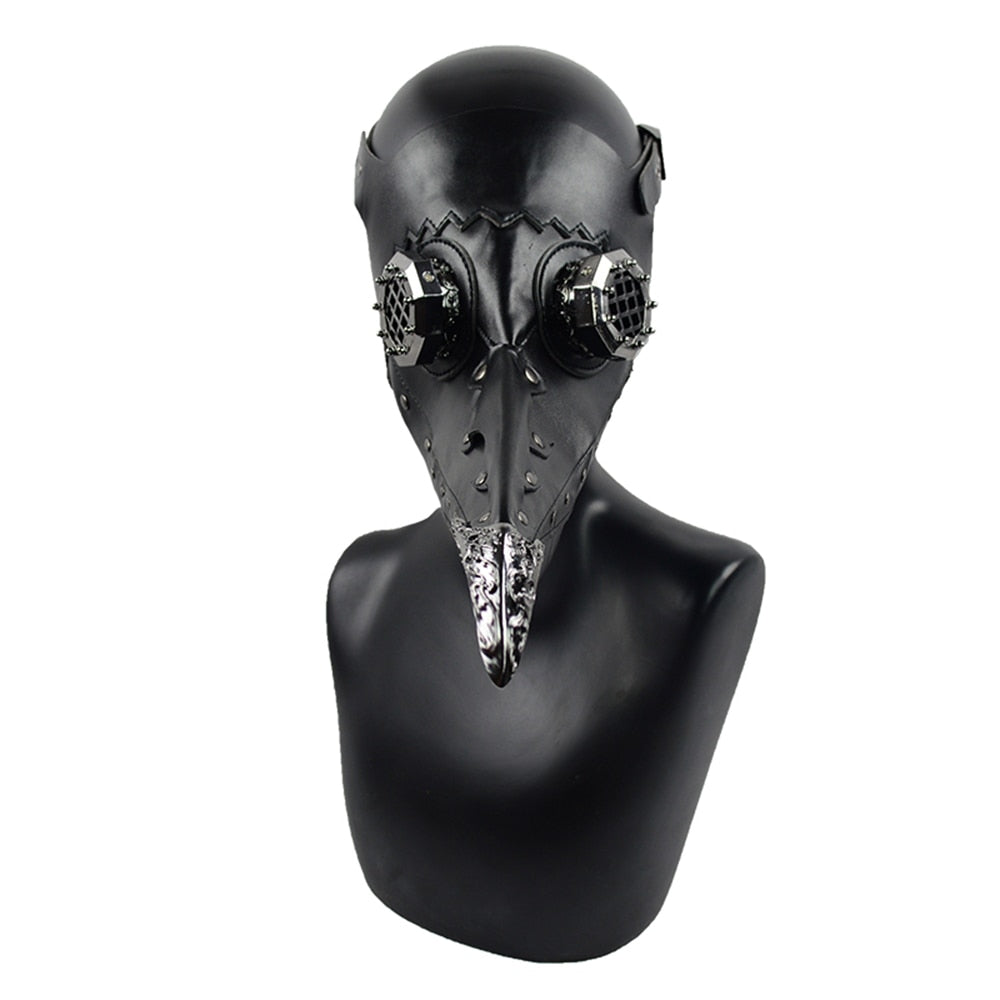 Steam Punk Unisex Bird Mask