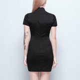 Gothic Elegant Black Dress