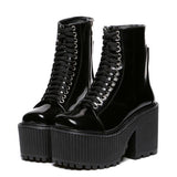 Shoes Punk Gothic Style
