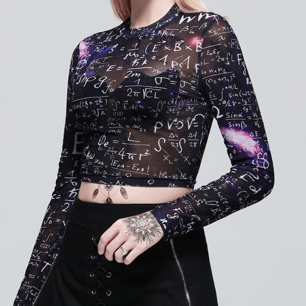 Gothic T-shirts Long Sleeve