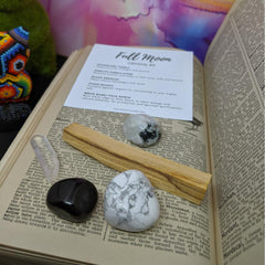 full moon kit with palo santo