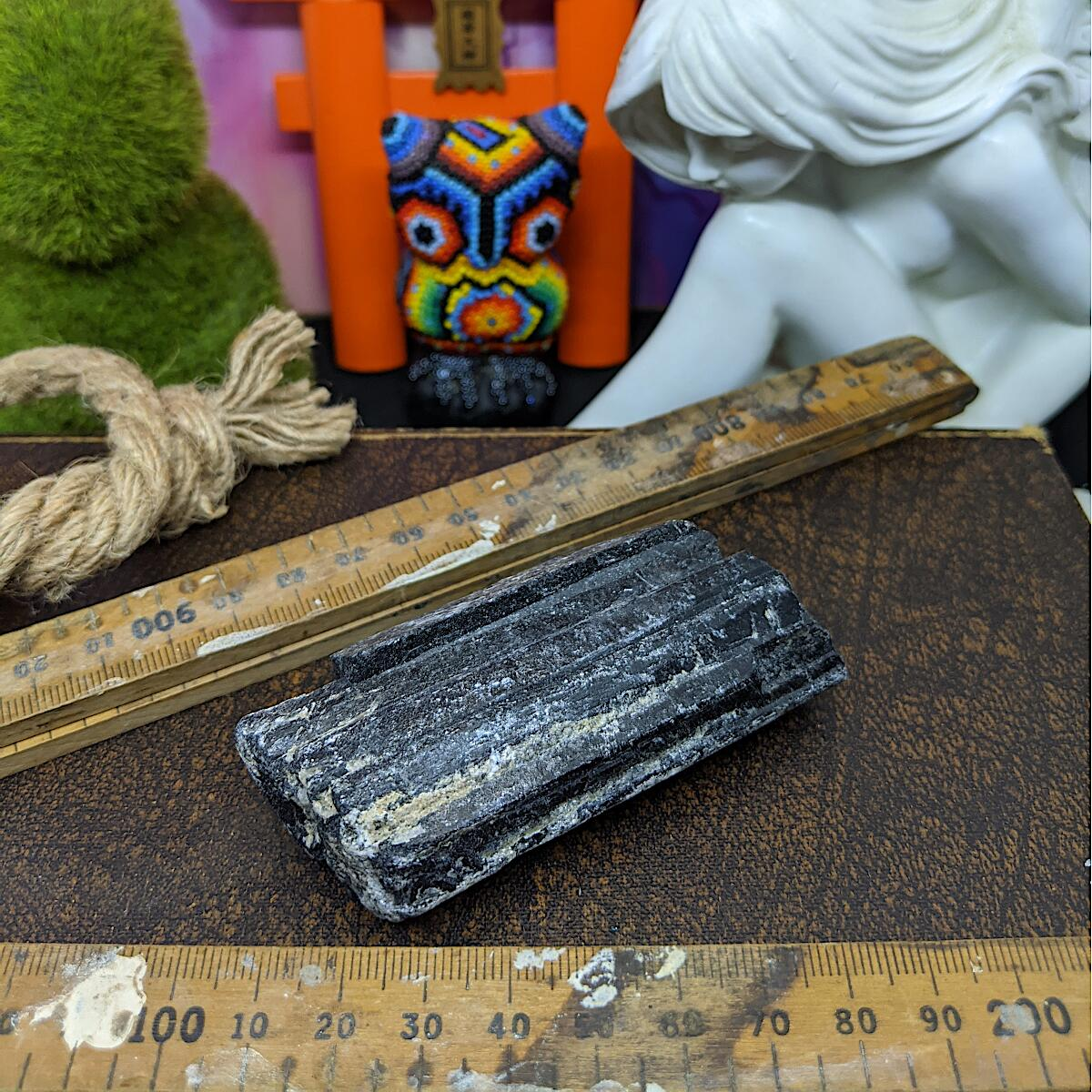 Black Tourmaline Rough | Medium