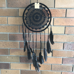 Black on Black Dream Catcher