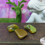 Green Opal Tumbled Stones - Med