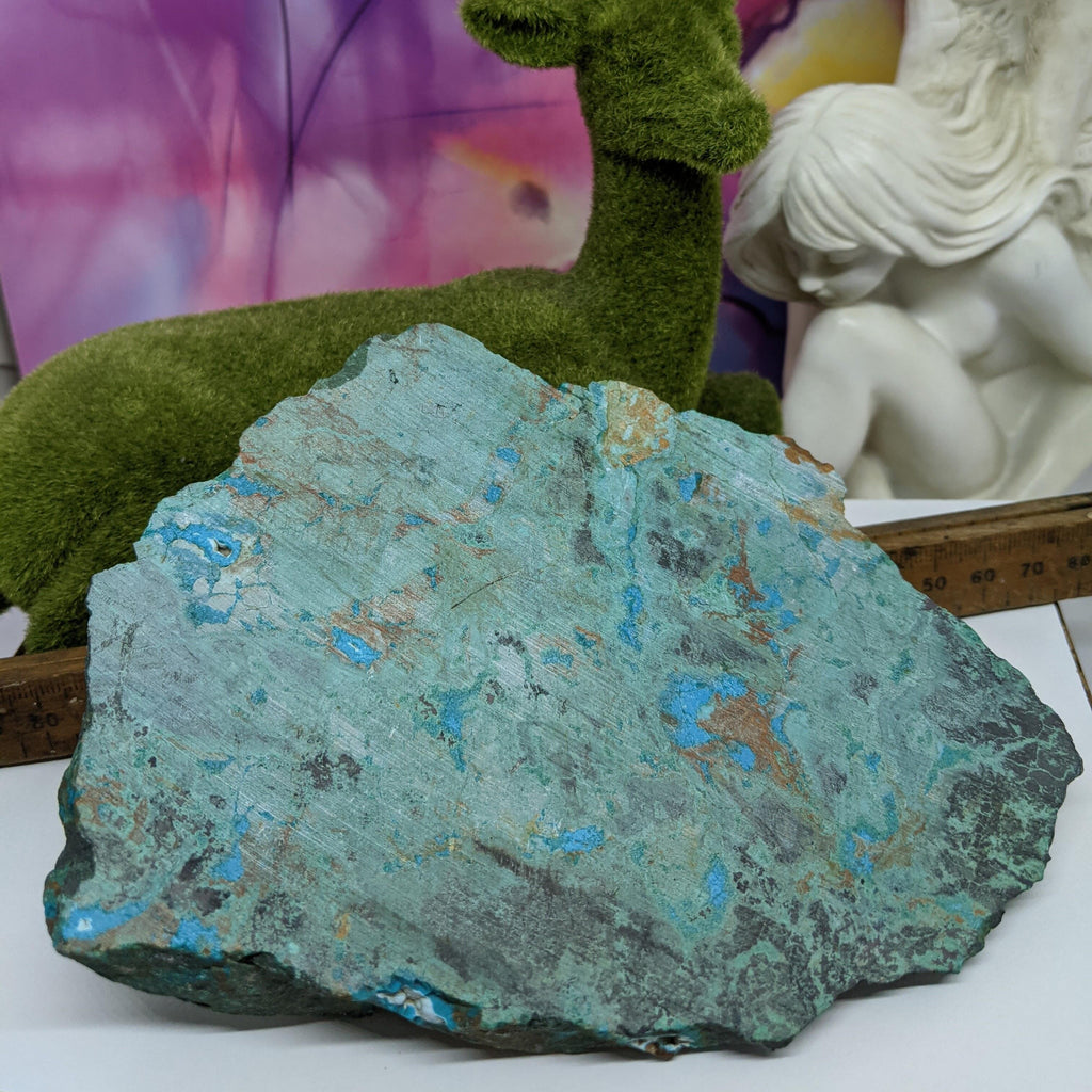 Chrysocolla  Faceted Raw Chunk