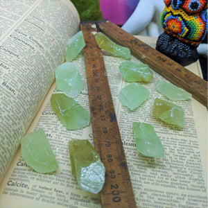 Green Calcite Roughs  Small 605