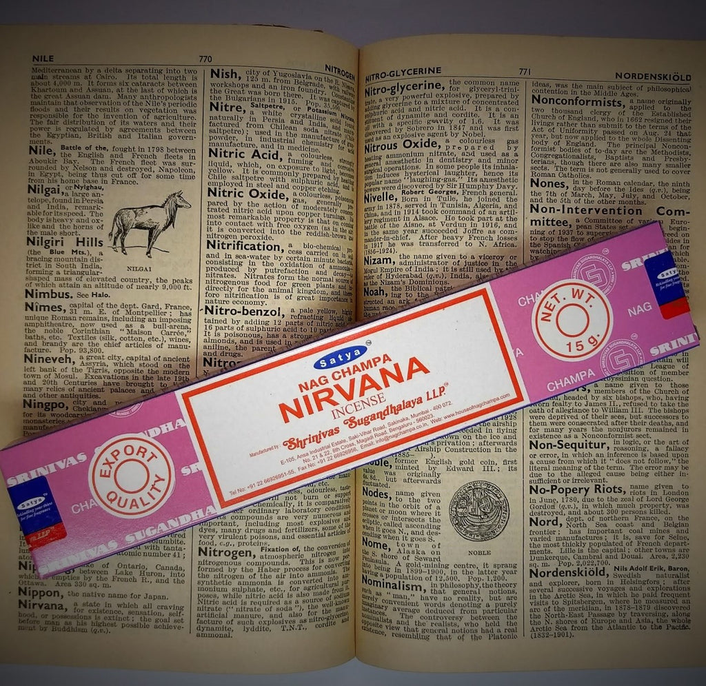 Nag Champa Nirvana (Satya) - Incense Sticks