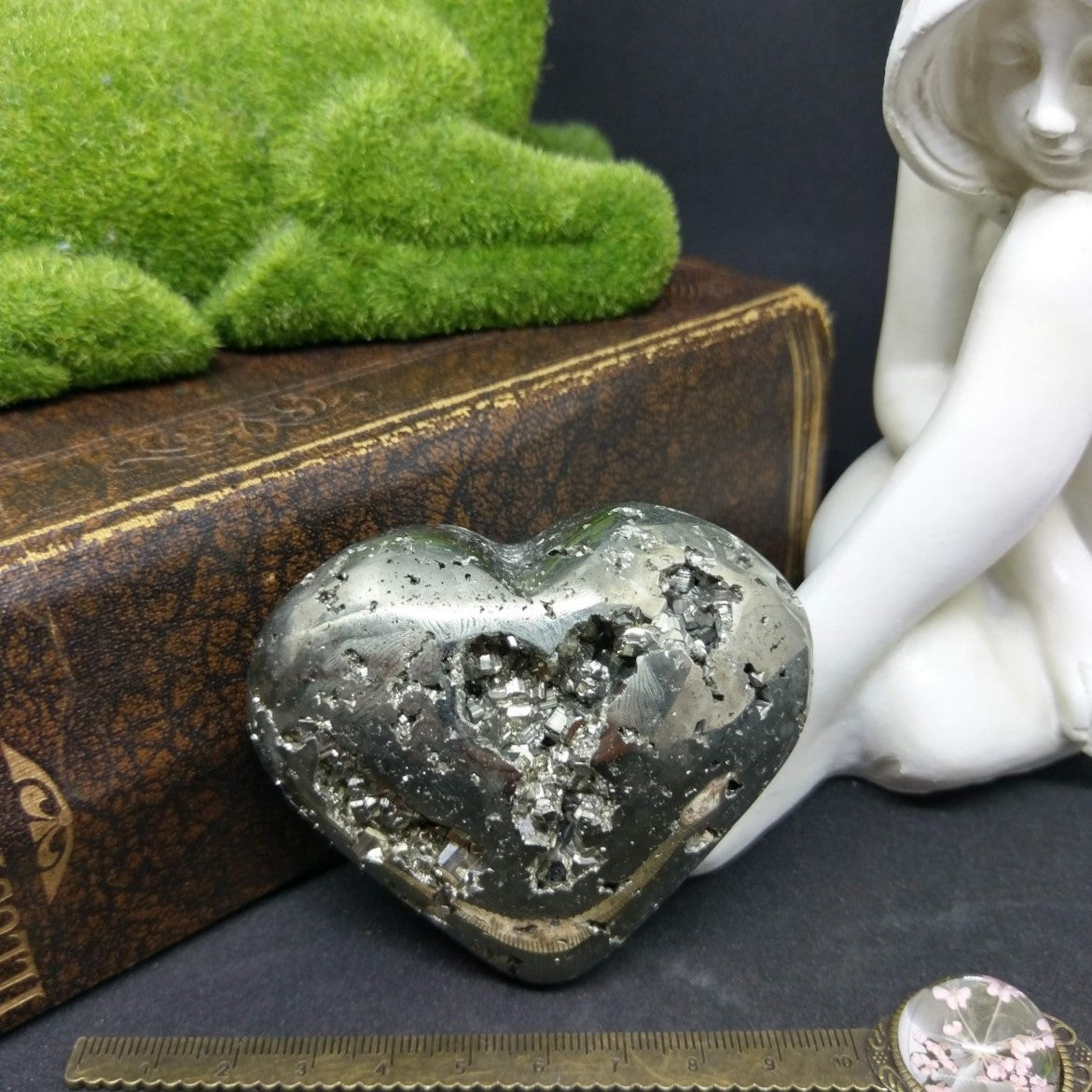 Pyrite Puffy Heart.