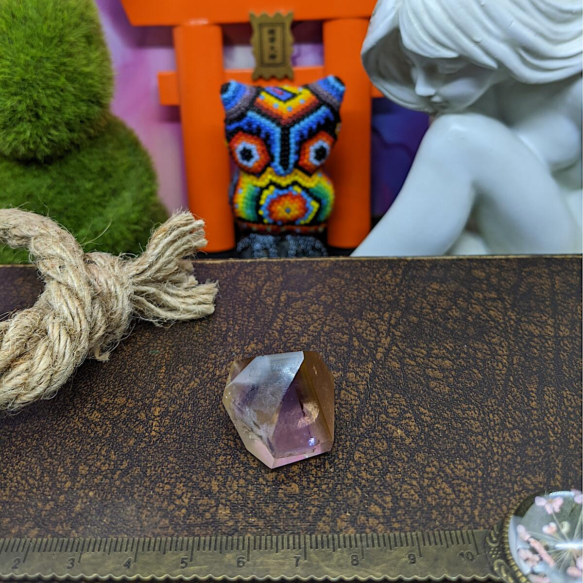 Smoky Amethyst Quartz Point | Mini.