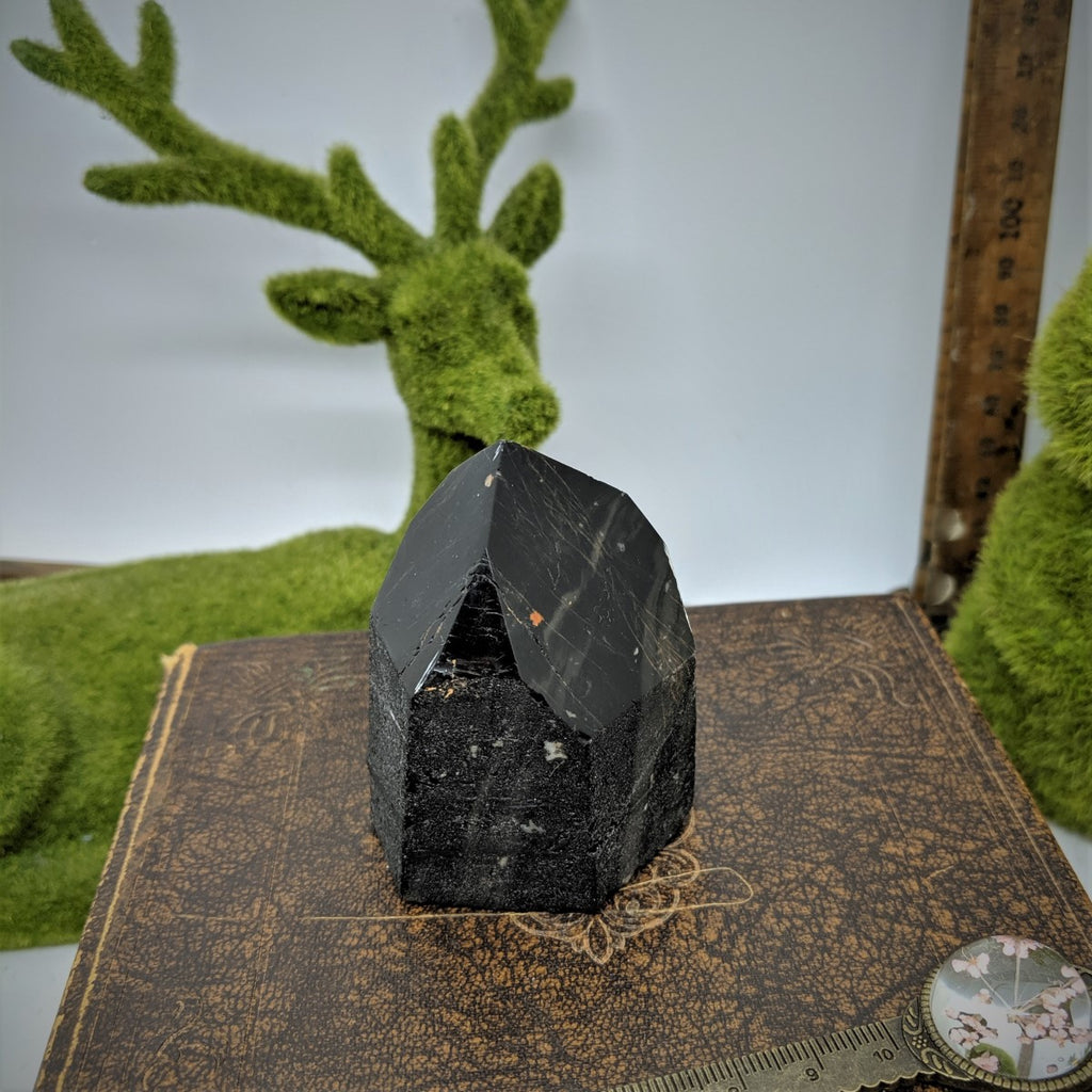 Black Tourmaline Point - Medium