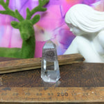 Clear Quartz with Inclusion Generator Point