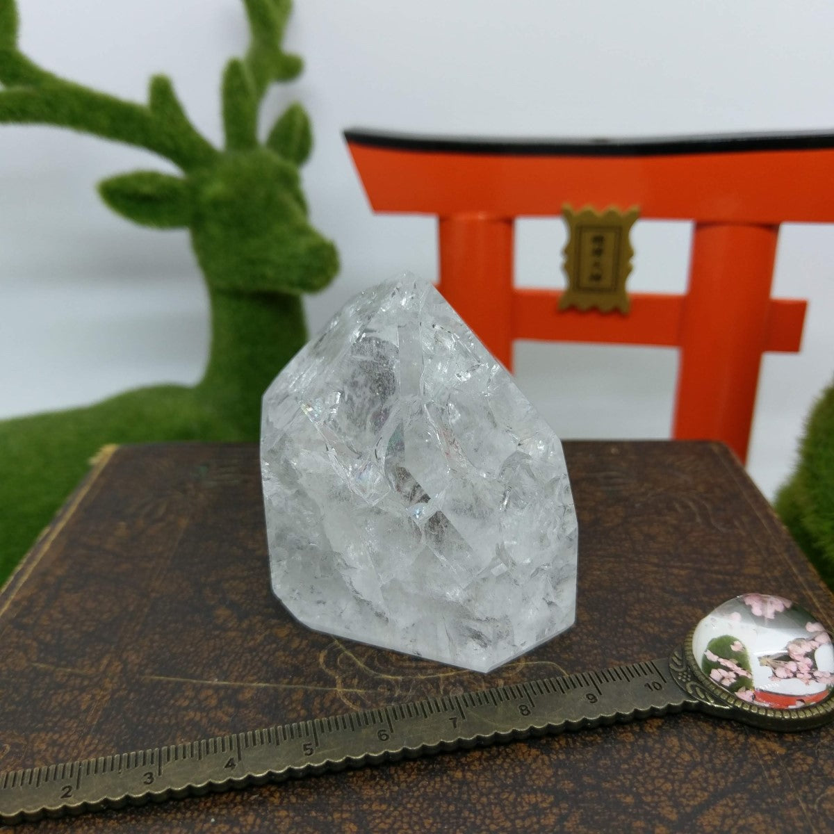 Fire & Ice / Crackle Quartz.