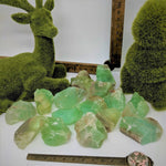 Green Calcite Chunks