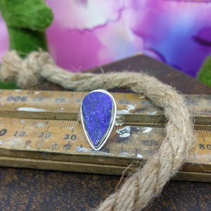 Size 7 Lapis Lazuli & 925 Sterling Silver Ring