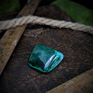 Open image in slideshow, Malachite Tumble Stones - Large