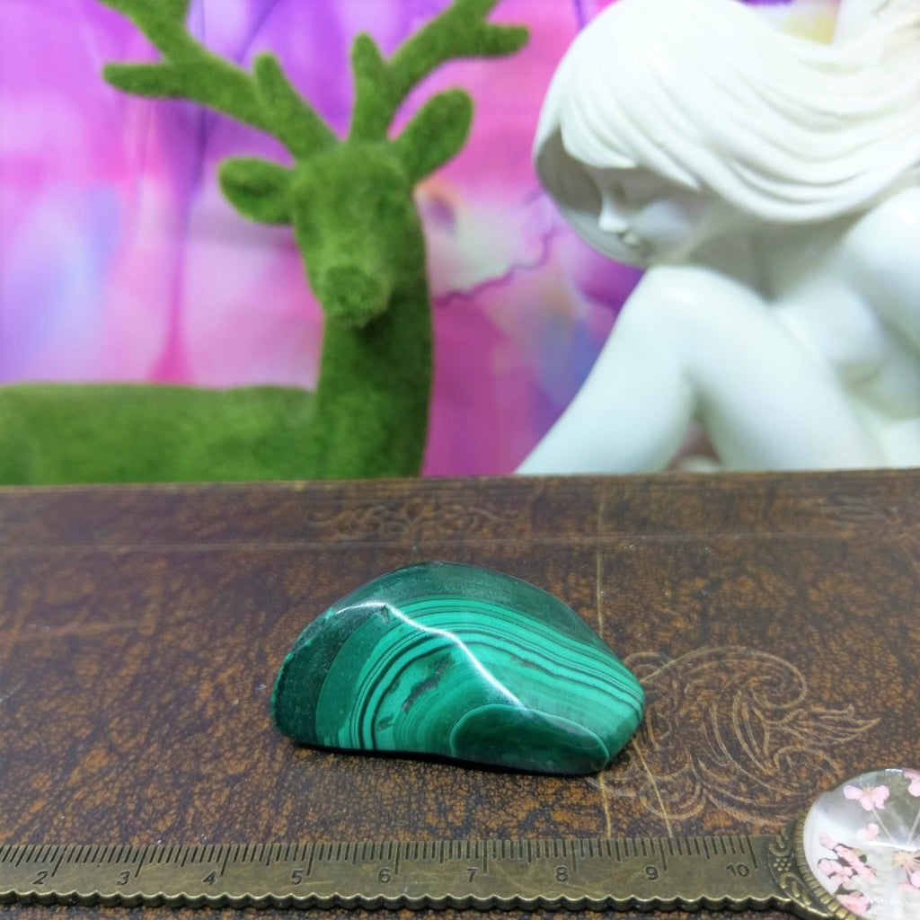 Malachite Tumble Stones - Large #389