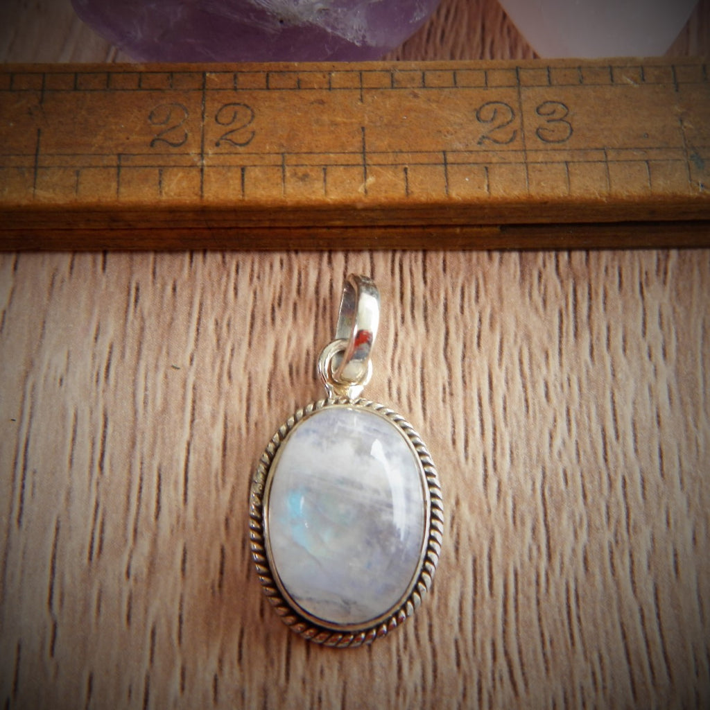 Moonstone & Sterling Silver Pendant #1