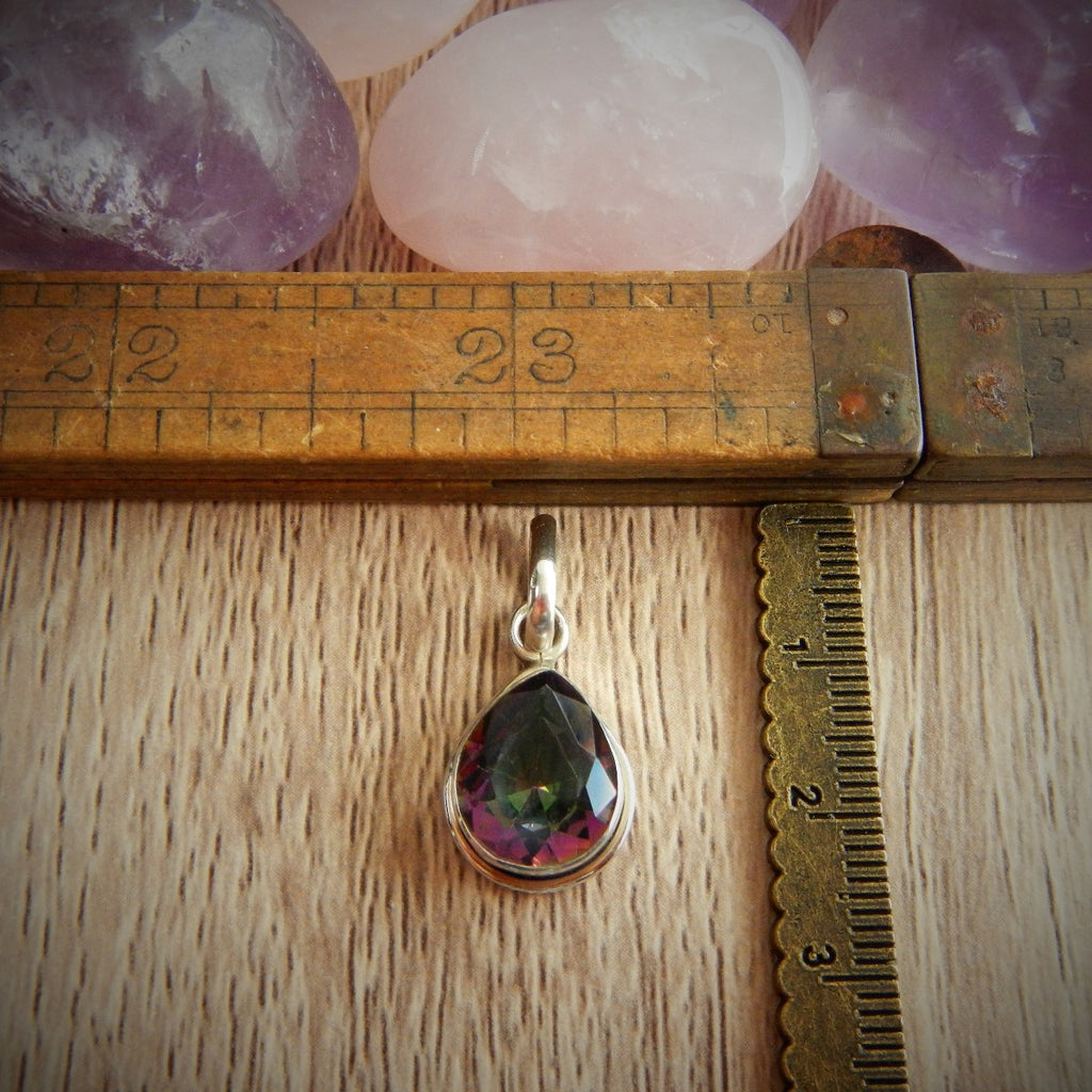 Mythical Topaz & Sterling Silver Pendants