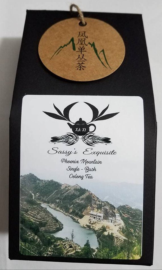 Wu Dong Phoenix Mountain Oolong Tea Cha