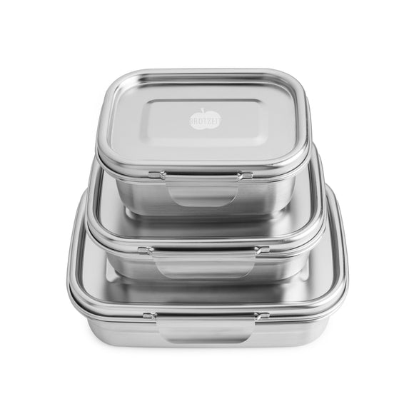 Breadtime BUDDY - leak-proof stainless steel lunchbox in 3 different sizes - Lunchbox - Chnöpfli GmbH