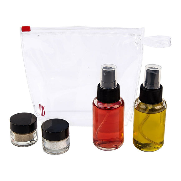 Iris Glass Dressing Set - 5 parti - Accessori - Chnöpfli GmbH