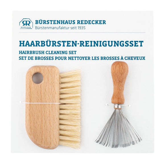 Redecker Haarbürsten Reinigungs- Set - Made in Germany - Chnöpfli GmbH