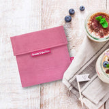 ROLL'EAT - Snack'n' GO Lunchbag / Snackbag DUO Nature - der doppelte Lunchbag - Lunchbag - Chnöpfli GmbH