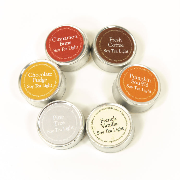 Tealight Scent Pack | $5 Coupon Included