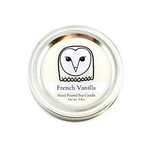 Owl Conservation Candle | French Vanilla Scent