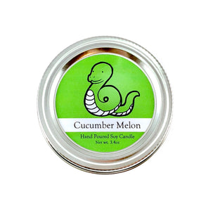 Python Conservation Candle | Cucumber Melon Scent