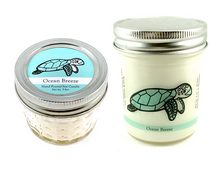 Sea Turtle Conservation Candle | Ocean Breeze Scent