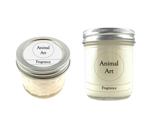 Custom Wildlife Conservation Candle