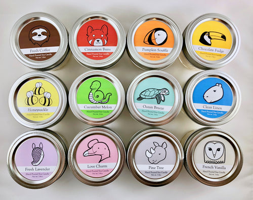 Wildlife Conservation Candles | 3 month Subscription