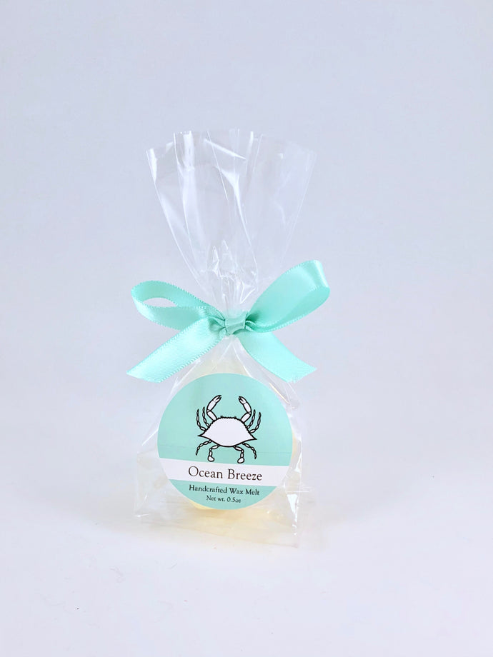 Blue Crab Conservation Wax Melts  |  Ocean Breeze Scent