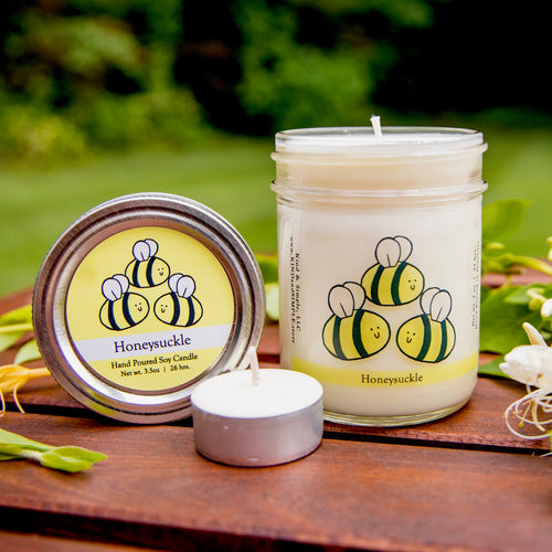 Bumble Bee Conservation Candle | Honeysuckle Scent