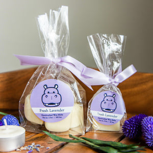 Hippo Conservation Wax Melts  |  Fresh Lavender Scent
