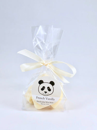 Panda Conservation Wax Melts  |  French Vanilla Scent