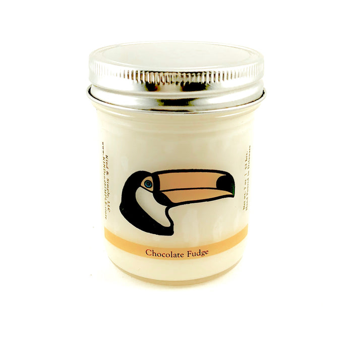 Toucan Conservation Candle | Chocolate Fudge Scent
