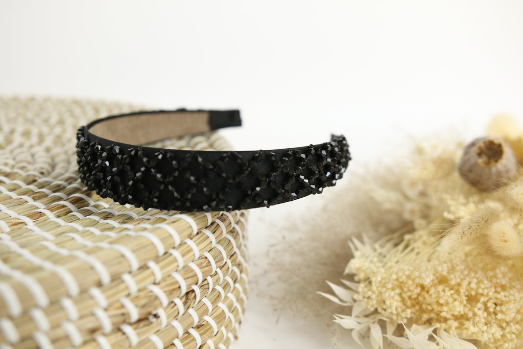 Zara Black Sparkle Band