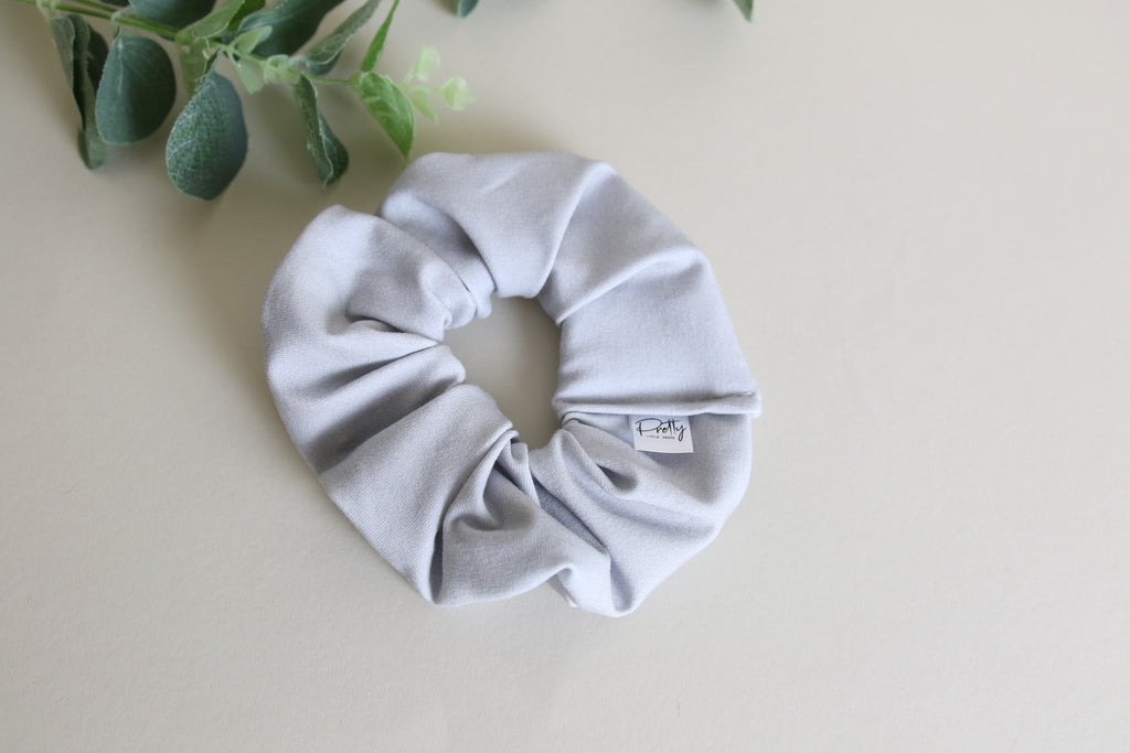 'Light Grey' scrunchy